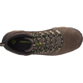 Columbia Peakfreak Venture Mid Suede WP Shoes Men brown